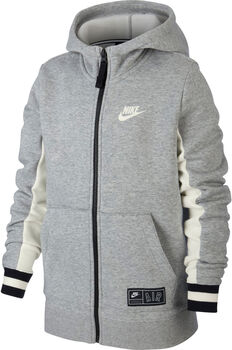 Nike B Nk Air Hoodie Fz Kapuzenjacke Jungen grau