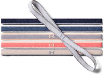 Under Armour Mini Haarbänder 6er-Packung cremefarben