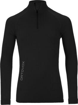 ORTOVOX 230 Competition Langarmshirt mit Halfzip Herren schwarz