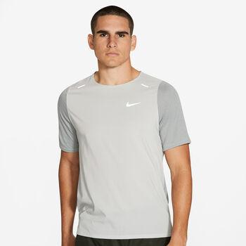 Nike Breathe Rise 365 T-Shirt Herren grau