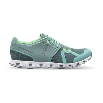 On The Cloud Laufschuhe Damen blau