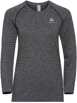 Odlo SEAMLESS ELEMENT Langarmshirt Damen grau
