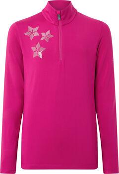 McKINLEY Dariana Langarmshirt mit Halfzip Mädchen pink