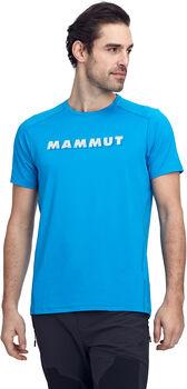 MAMMUT Splide Logo T-Shirt Herren blau