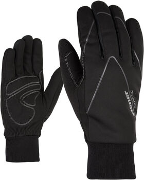 Ziener Unico Langlaufhandschuhe schwarz
