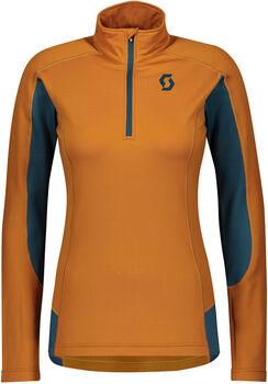 SCOTT Defined Light Langarmshirt mit Halfzip Damen orange