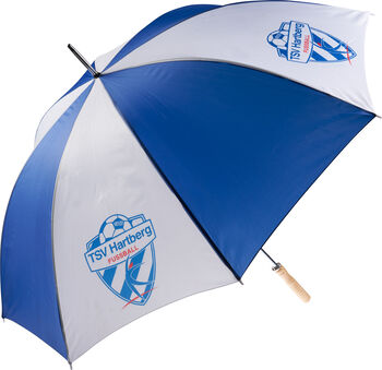NOBRAND TSV Hartberg Regenschirm Herren blau