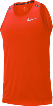 Nike  Dry Cool Miler Lauftank Herren orange