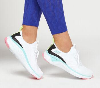 Skechers Solar Fuse Fitnessschuhe Damen weiß