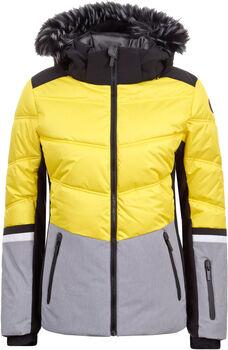 Icepeak Electra Skijacke mit Kapuze Damen gelb