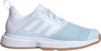 adidas Essence Indoor Hallenschuhe Damen blau