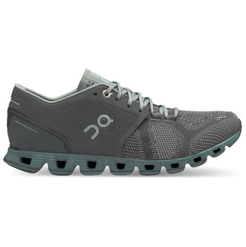 On Cloud X Laufschuhe Damen blau