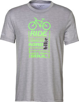NAKAMURA Errano T-Shirt Herren grau