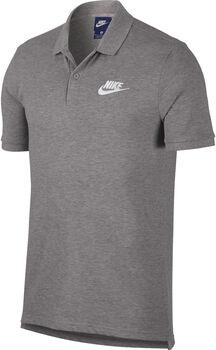 Nike Nsw Polo PQ Matchhu Poloshirt Herren grau