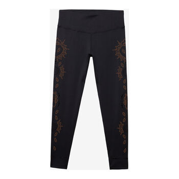 Desigual Hindi Dancer Legging Damen schwarz