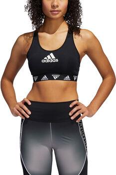 adidas Don't Rest Alphaskin Badge of Sport Sport-BH Damen schwarz