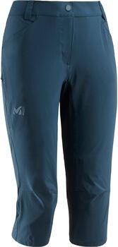Millet Trek S 3/4 Pt Wanderhose Damen blau