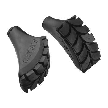 Leki Asphalt Pad Walking Gummipuffer schwarz