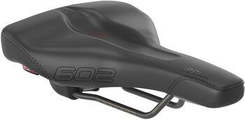 SQlab 602 Ergolux Active Fahrradsattel 16 cm schwarz