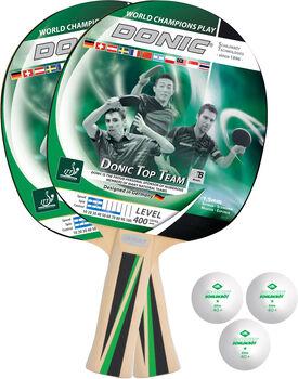 DONIC Top Teams 400 Tischtennis-Set weiß