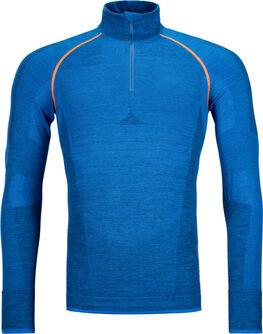 230 Competition Zipp Neck Langarmshirt