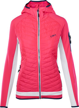 CMP Fix Hood Fleecejacke Damen pink