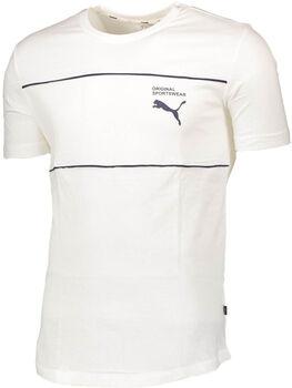 Puma Graphic Tee 2 T-Shirt Herren weiß