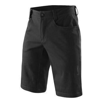 LÖFFLER Radshorts Jeans Herren schwarz