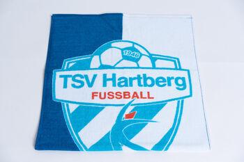 NOBRAND TSV Hartberg Handtuch Herren weiß