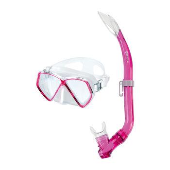 Mares Zephir Schnorchel-Set pink