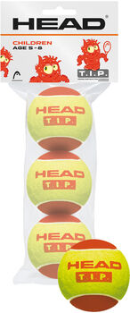 Head T.I.P. Red 3-er Pack Tennisbälle gelb