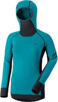 DYNAFIT Alpine L/S Tee. L/S Shirt mit Kapuze Damen blau