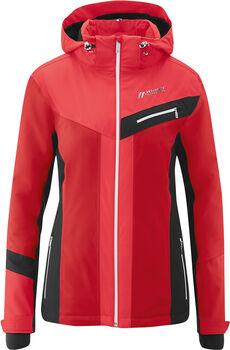 Maier Sports Dombai W Skijacke mit Kapuze Damen rot