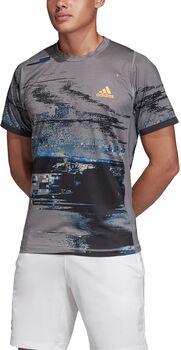 ADIDAS New York T-Shirt Herren grau