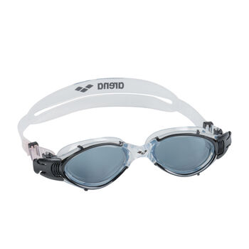 Arena Nimesis Crystal Fit M Schwimmbrille grau