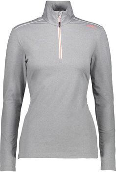 CMP Trentino Langarmshirt mit Halfzip Damen grau