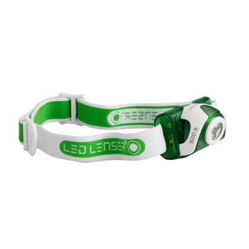 LedLenser Seo 3 Stirnlampe grün