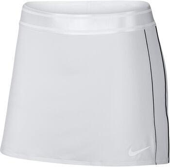 Nike Court Dri-Fit Tennisrock Damen weiß