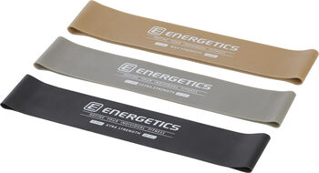 ENERGETICS Mini Bands Set Pro Fitnessbänder schwarz