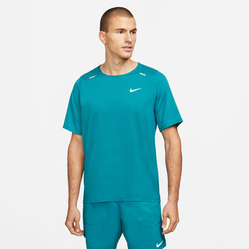 Nike Breathe Rise 365 T-Shirt Herren blau