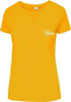 MARTINI Sentiment T-Shirt Damen gelb
