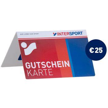INTERSPORT Gutscheinkarte rot