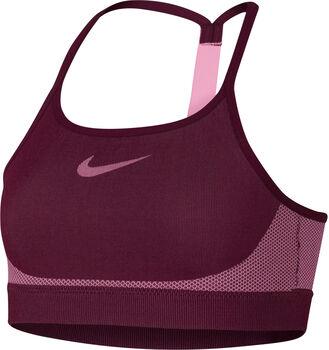 Nike Bra Seamless Sport-Bustier Mädchen rot