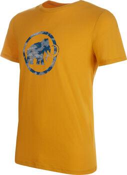 MAMMUT Logo T-Shirt Herren gelb