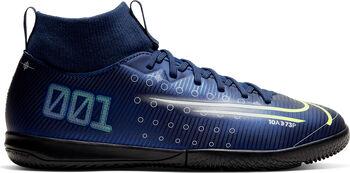 Nike Mercurial Superfly 7 Academy MDS IC Hallenfußballschuhe Jungen blau