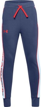 Under Armour Rival French-Terry Trainingshose Jungen blau