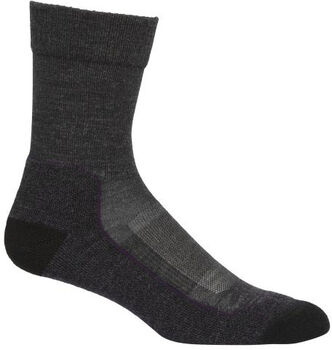Icebreaker Hike+Light Crew Socken schwarz