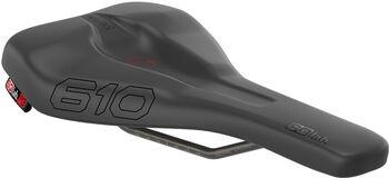 SQlab 610 Ergolux Active Sattel 13 cm schwarz