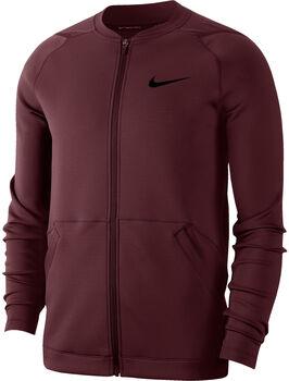 Nike Fleecejacke Herren rot