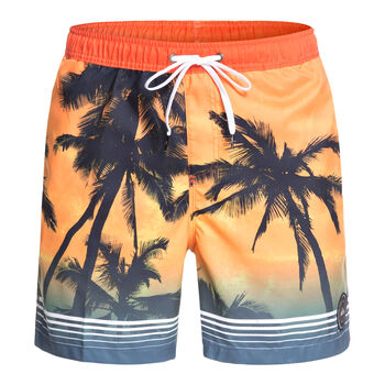 Quiksilver Paradise Volley 17 Badeshorts Herren orange